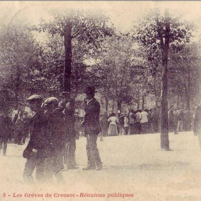 les greves de 1900