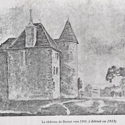chateau de barrat