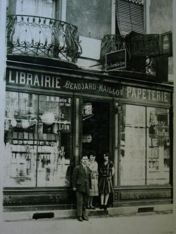 La librairie autrefois