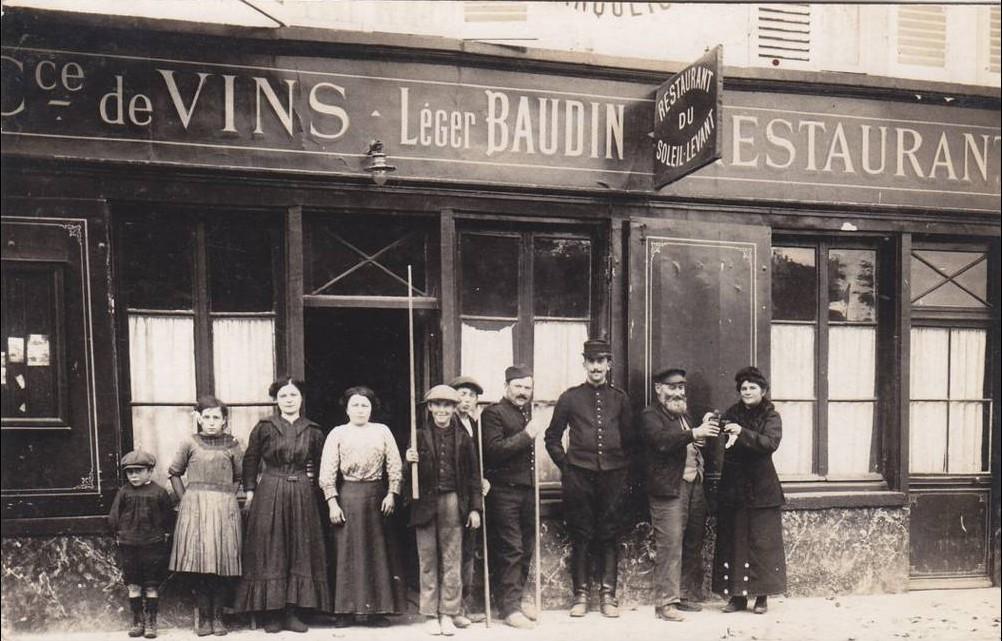 Rue des oiseaux 1914