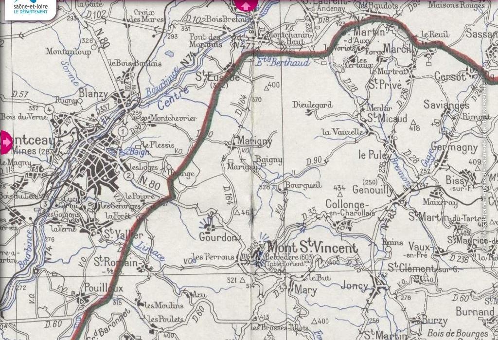 1941 demarcation