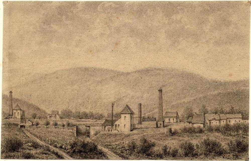 Puits des nouillots puits de l ouche 1845 creusot